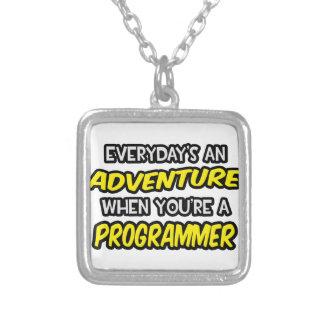 Everyday's An Adventure ... Programmer Custom Necklace