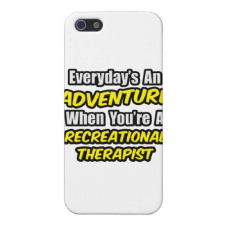Everyday's An Adventure .. Recreational Therapist Case For iPhone SE/5/5s