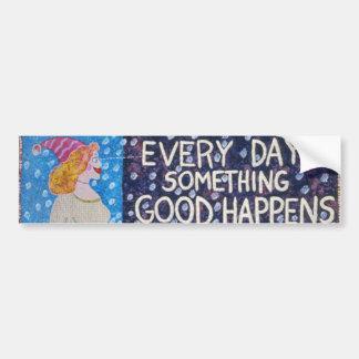 EveryDaySomethingGoodHappens Bumper Stickers