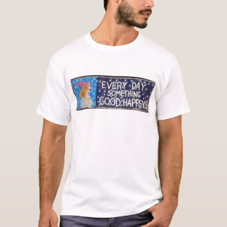 EveryDaySomethingGoodHappensWeb-blackbackground Playera