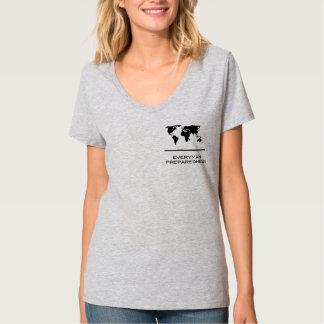 Everyman Preparedness Women's V-Neck T-Shirt