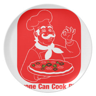 Everyone Can Cook Pizza Plate