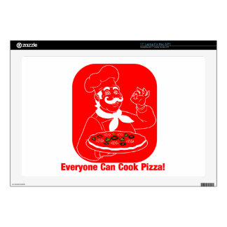 "Everyone Can Cook Pizza Skins For 17"" Laptops"