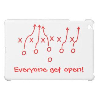 Everyone get open! iPad mini cover