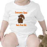 Everyone Goes Nuts Over Me Baby Bodysuits
