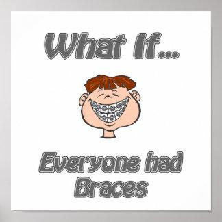 everyone had braces poster