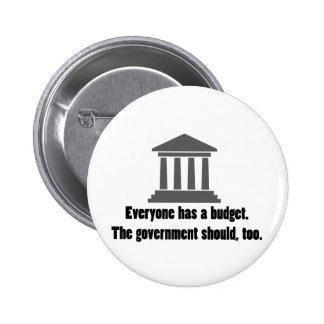 Everyone has a Budget Pin