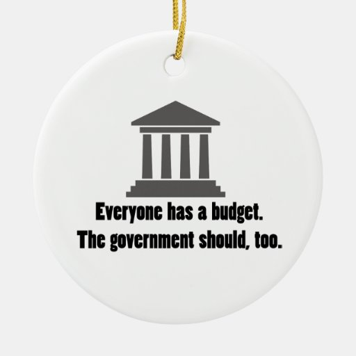 Everyone has a Budget Ceramic Ornament