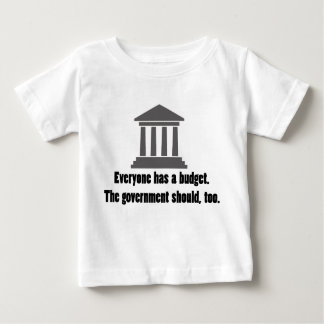 Everyone has a Budget Infant T-shirt