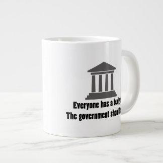 Everyone has a Budget Large Coffee Mug
