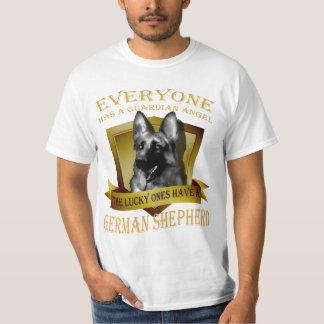 Everyone has a guardian angel, german shepherd shirt