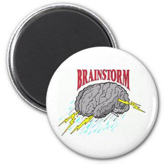 everyone has brainstorms. fridge magnets