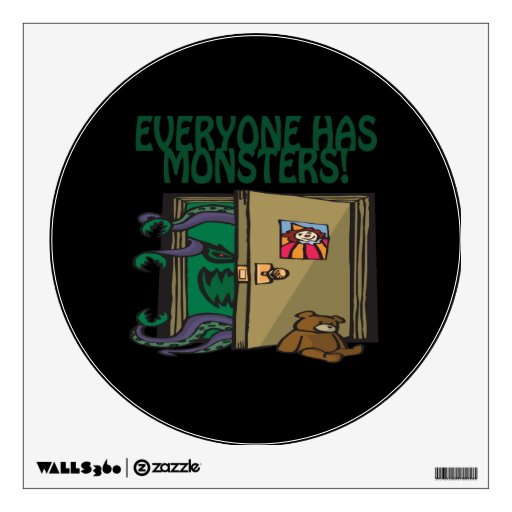 Everyone Has Monsters Wall Decals
