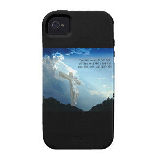 Everyone hates God until you need HIM Case-Mate iPhone 4 Cases