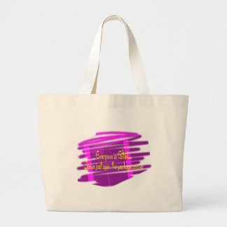 Everyone is gifted canvas bag