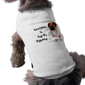Everyone is Pug-Fu Fighting Karate Pug Tee