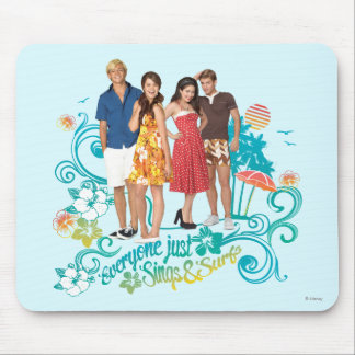 Everyone Just Sings & Surfs Mouse Pad