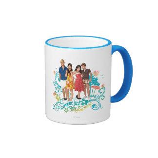 Everyone Just Sings & Surfs Ringer Coffee Mug