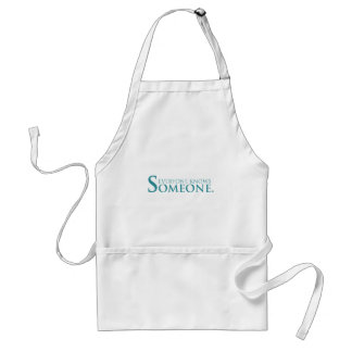Everyone Knows Someone Products Adult Apron