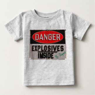 Everyone Knows What's Inside The Diaper... Baby T-Shirt
