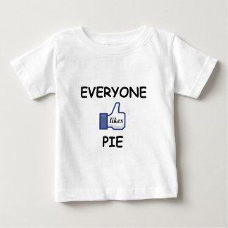 EVERYONE LIKES PIE BABY T-Shirt