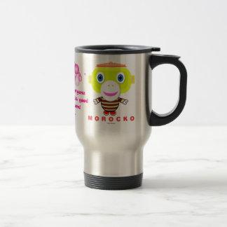 Everyone looks good around me-Cute Monkey-Morocko. Travel Mug