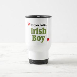 Everyone love a Irish Boy Travel Mug