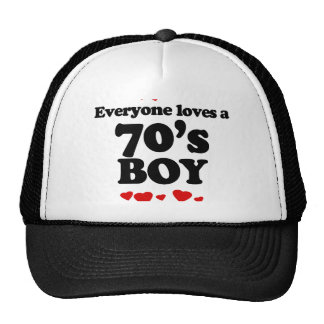 Everyone Loves a 70s Boy Hat