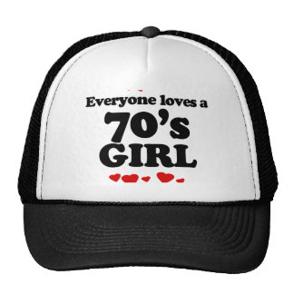 Everyone Loves a 70s Girl Mesh Hats
