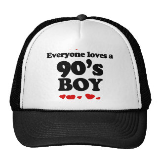 Everyone Loves a 90s Boy Hat