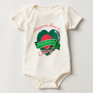 Everyone Loves A Bangladeshi Girl Baby Bodysuit