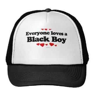 Everyone Loves a Black Boy T-shirt Hats