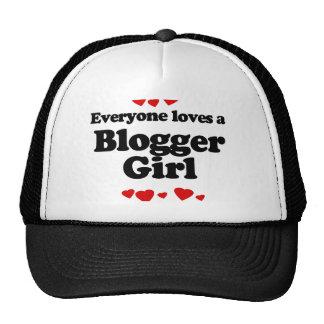 Everyone Loves a Blogger T-shirt Trucker Hats