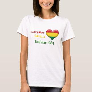 Everyone Loves a Bolivian Girl T-Shirt