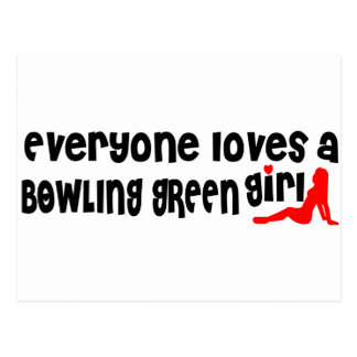 Everyone loves a Bowling Green girl Postcard