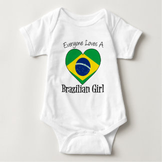 Everyone Loves A Brazilian Girl Baby Bodysuit