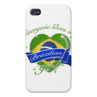 Everyone loves a Brazilian girl iPhone 4 Cases