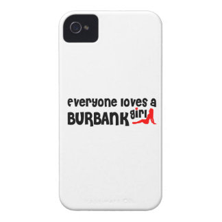 Everyone loves a Burbank girl iPhone 4 Covers