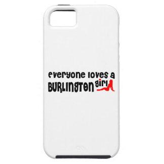 Everyone loves a Burlington girl iPhone 5 Cover