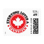 Everyone Loves a Canadian! Stamps