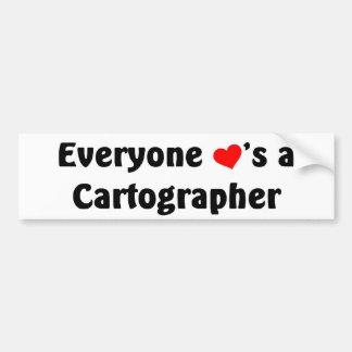 Everyone loves a Cartographer Bumper Sticker