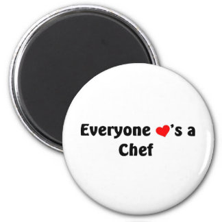 Everyone loves a chef magnet
