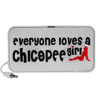 Everyone loves a Chicopee girl iPhone Speaker