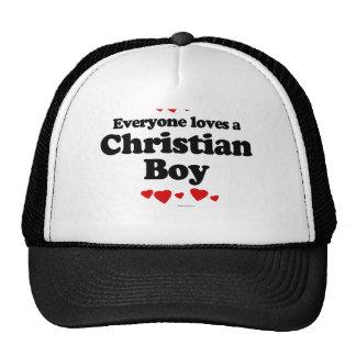 Everyone Loves a Christian Boy T-shirt Trucker Hat