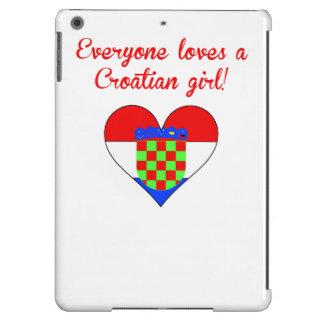 Everyone Loves A Croatian Girl Case For iPad Air