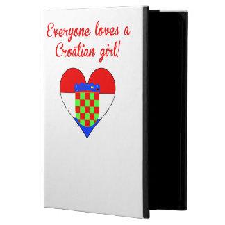 Everyone Loves A Croatian Girl iPad Air Case