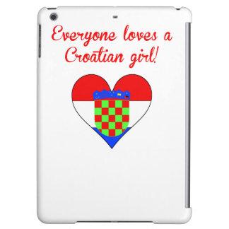 Everyone Loves A Croatian Girl iPad Air Covers