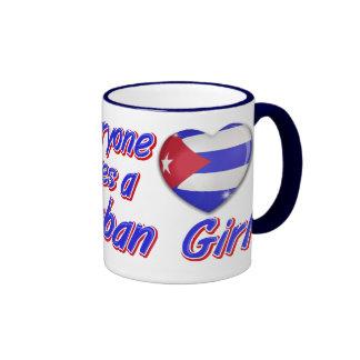 Everyone loves a Cuban girl Coffee Mug