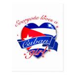 Everyone Loves A Cuban Girl Postcard