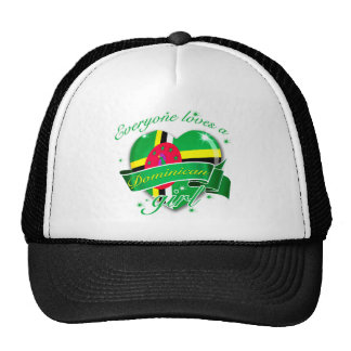 Everyone Loves A Dominican Girl Trucker Hat